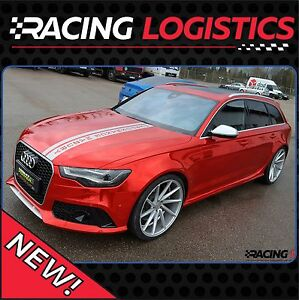 Audi Racing Hood Stripes CUSTOM TEXT PROJECT RS S A A A S - Audi custom
