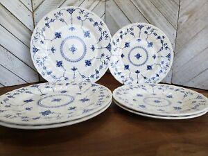 Set-of-6-Churchill-FINLANDIA-COLUMBIA-Plates-3-Salad-8-034-amp-3-Dinner-9-7-8-034