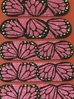 Jamberry Half Sheet - Butterfly Kisses - Retired