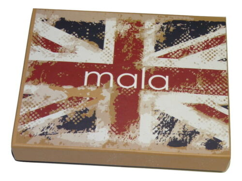 Union Jack Leather RFID PROTECTED Card Holder by Mala Leather with gift dustbag