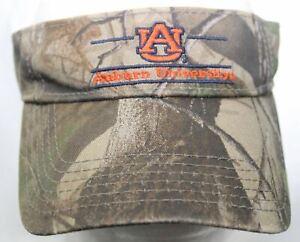 stable quality innovative design performance sportswear Auburn University Tigers Camo Visor NCAA College Sports Hat The ...