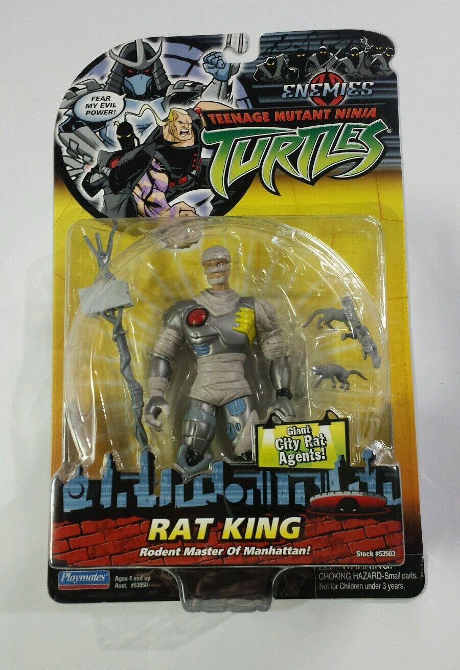 Teenage Mutant Ninja Turtles 2006 Rat King TMNT Enemies