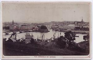 Bayonne-Pyrenees-Atlantico-Francia-Vintage-Albumina-Ca-1880