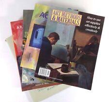 Lot (5) ART & PAINTING Books Methods Realists Fundamentals Oils Acrylic Canvas