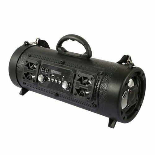 Portable Wireless Bluetooth Dual Speaker Subwoofer Boombox Super Bass FM TF MIC