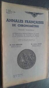 Brochure Annali Francesi Di Frequentemente N° 3/3E Trim. 1934 ABE