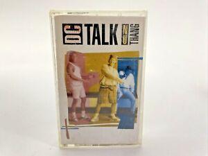 DC Talk Nu Thang Cassette Tape Christian Hip Hop Rap Vintage