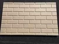 4 X Brick Effect Vermiculite Fire Boards 1000mm X 610mm X 16mm