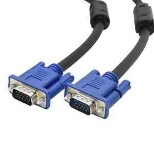 Quality VGA Cable - 1.5M Length - For Computers, Tv's, ....