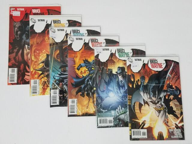 Batman: The Return of Bruce Wayne 1 2 3 4 5 6   6 Issue Series (DC Comics, 2010)