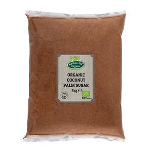 Organic Coconut Palm Sugar 5kg Certified Organic