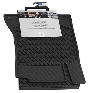 Mercedes-OEM-All-Weather-Season-Floor-Mats-2017-2019-C-Class-Coupe-205-Set-of-2