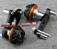 For 2006-2012 SUZUKI GSXR 600 750 K6 K8 Frame Sliders Crash Pad Protector Orange