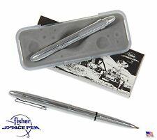 Fisher Space Pen #400CL / Classic Chrome Bullet Pen with Pocket Clip