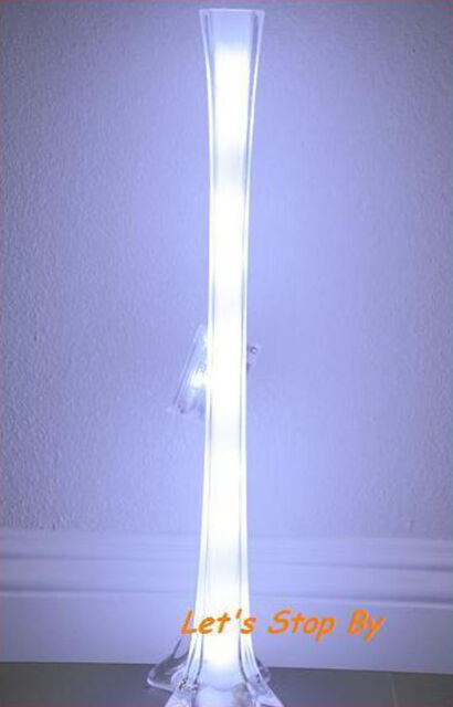 5pc Led 20 White Wire Light For Wedding Waterproof Eiffel Tower Vase