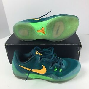 best service 81e84 96cea Image is loading Nike-Zoom-Kobe-Venomenon-5-Mens-Basketball-Sneakers-
