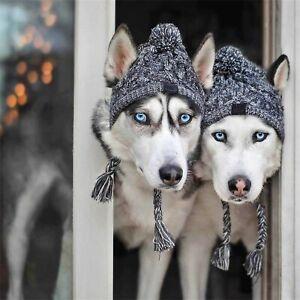 Winter-Warme-Hundemuetze-Kleine-Hunde-Haustier-Kopfbedeckung-Hundekleidung