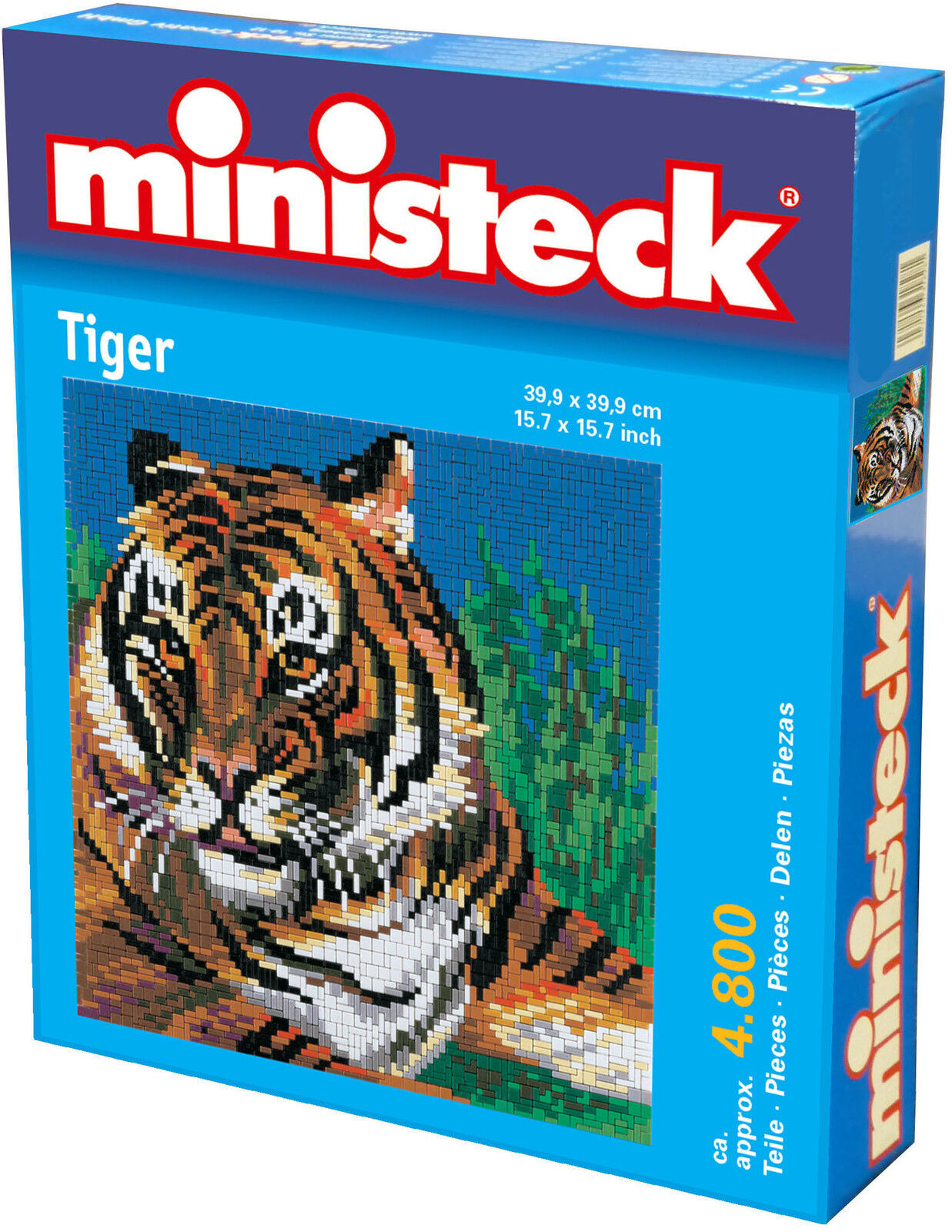 Noël coloré Ministeck Pixel Puzzle (31804): Tigre 4800 Pièces | De Qualité Constante  | Le Prix De Marché  | Nous Avons Gagné Les éloges De Clients  | Distinctif