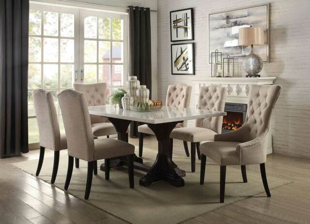 Sommerford 6 Piece Rectangular Dining Table Set For Sale Online Ebay