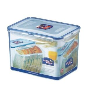 Image Is Loading LOCK AND Amp LOCK RECTANGULAR FOOD BREAD CONTAINER