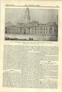 1900-First-Design-For-New-Lawcourts-In-Cape-Town-Hawke-Mackinlay
