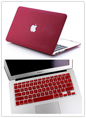 Laptop Accessories Hard Case Keyboard Cover For Macbook Pro 13/15 Air 11/13 12""