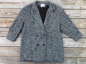 Details about Vintage Studio C Women Jacket Coat Made in USA Wool Blend Size L Read Des