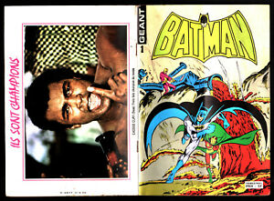 BATMAN-GEANT-n-1-1979-SAGEDITION-COMICS-CASSIUS-CLAY-MOHAMMED-ALI