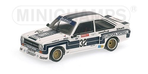 Ford Escort II RS 1800 Super Sprint winner DRM nuerburgring 1976 1 43 Minichamps
