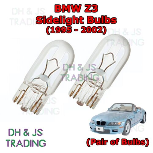 BMW Z3 Front Sidelights 95-02 Parking Lights Side Light Bulb Pair of Bulbs