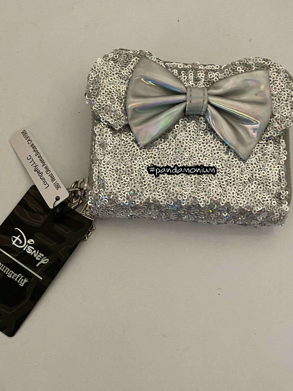 Loungefly Disney Holographic Sequin Exclusive Wallet New