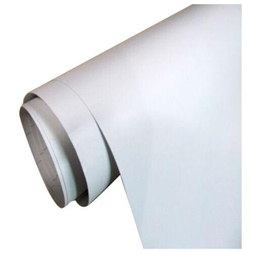Weiss Auto Folie matt breit BLASENFREI selbstklebend Klebe Folie 50x152cm Z7T R9