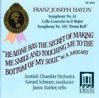 Joseph Haydn Symphonies NOS 61 and 103 Cello Concerto No 2 Schwarz