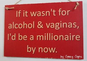 Alcohol-Vaginas-Sign-naughty-cute-bar-pub-workshop-office-man-cave-wooden-sign