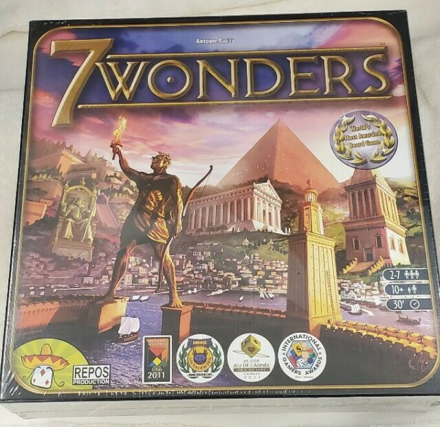 7 Wonders Board Game New Sealed Party For Sale Online