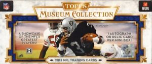 2013-Topps-Museum-Collection-Football-Complete-your-set-Brady-Rodgers-Montana-RC
