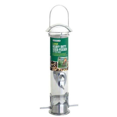 Bird Food Heavy Duty Seed Feeder Squirrel Proof Resistant Hanging Bird Feeders
