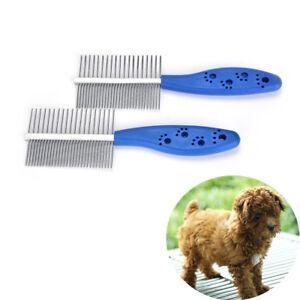 Groomings-Comb-Brush-Combs-Rake-Hair-Shedding-Kill-Flea-for-Pet-Tools-DogsLDU