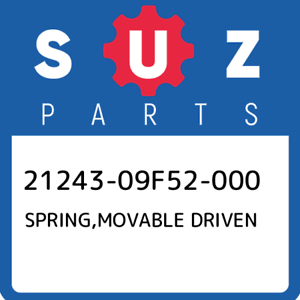 21243-09F52-000-Suzuki-Spring-movable-driven-2124309F52000-New-Genuine-OEM-Part