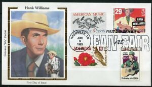 UNITED-STATES-COLORANO-1993-HANK-WILLIAMS-COMBO-FIRST-DAY-COVER