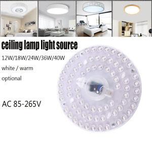 Led ceiling Light source retrofit board 12W 18W 24W 36W 40W module 110-220V Lamp