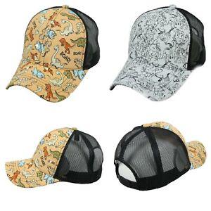 Smile Face Mesh Hat Unisex Trucker Caps Sun Mesh Back Cap Hat Comfortable