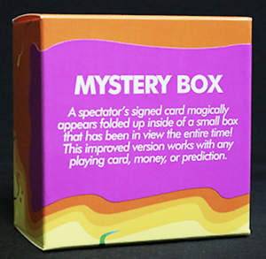 Mystery Box By John Kennedy Magic Ebay