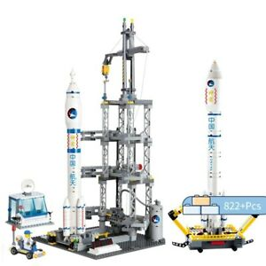 822pcs-Space-Rocket-Launch-Pad-Model-Building-Lepining-Bricks