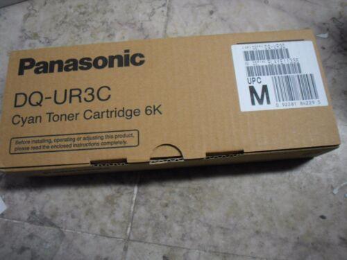 NEW GENUINE Panasonic DP-CL18 DP-CL22 Cyan Toner Cartridge DQ-UR3C DQUR3C