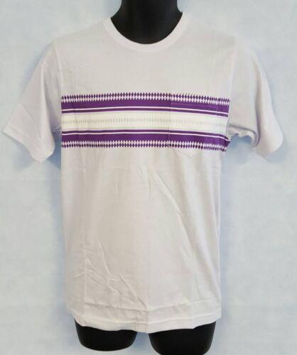 Mens Umbro By Kim Jones Stripe Print Tee Shirt Size Medium Brand New #4400
