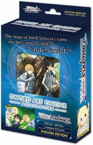 Weiss Schwarz Sword Art Online Alicization Trial Deck SAO Starter English