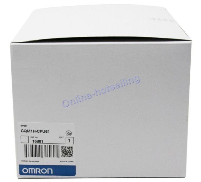 OMRON CQM1H-CPU61 NEW IN BOX Programmable Controller PLC Module