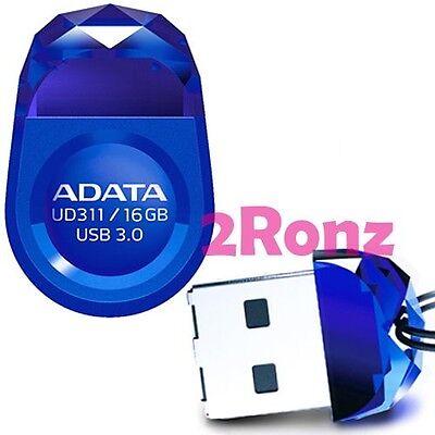 ADATA UD311 16GB 16G USB 3.0 Flash Pen Drive Nano Tablet Car Ultrabook Disk Blue