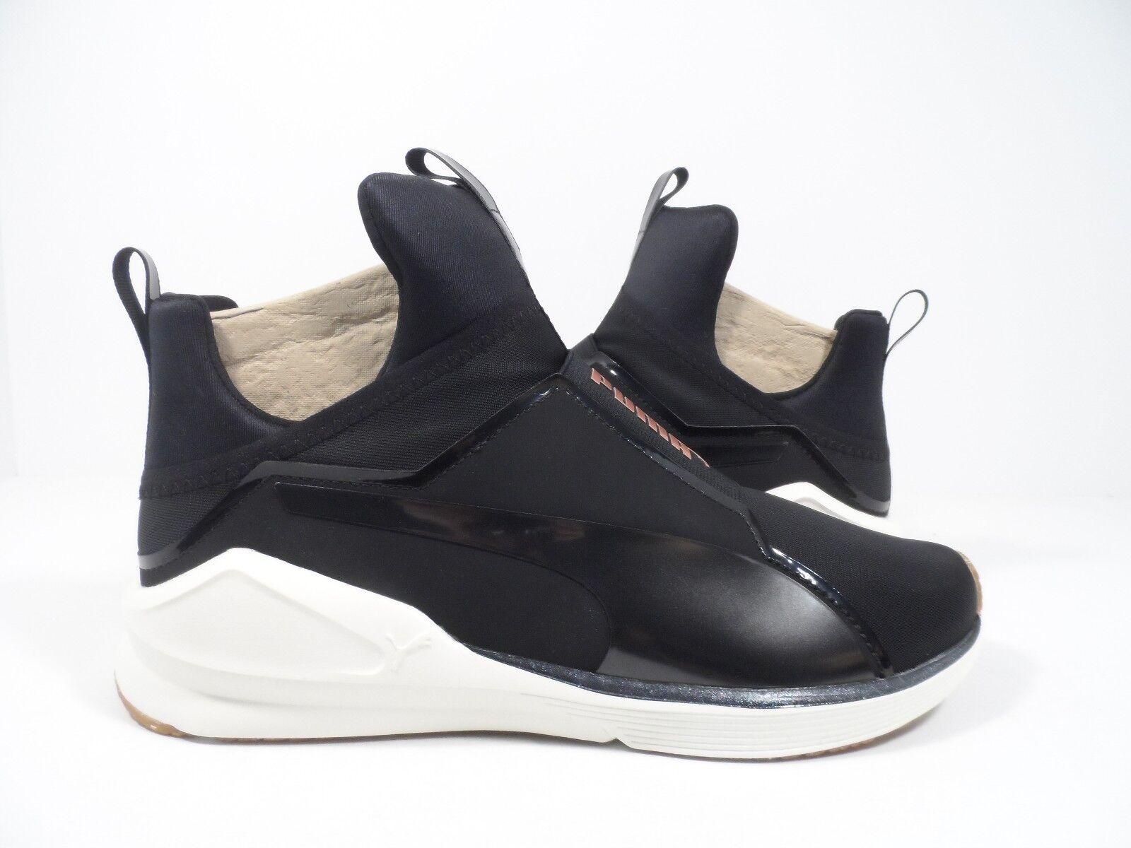 PUMA Women's Fierce vr Wn Sneaker Sneaker Sneaker Puma Black Whisper White Size 8 0ee335